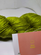 Maharaja - silk for lacework Olive