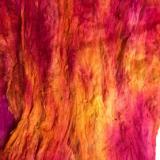 Silk Cocoon Sheet red shades