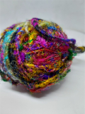 Recycled sari silk bulky