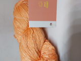 Anamika - structured mulberry silk Orange