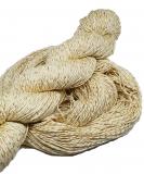 Mulberry silk with viscose (banana fiber) + lurex
