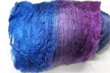 Silk Cocoon Sheet blue-violet